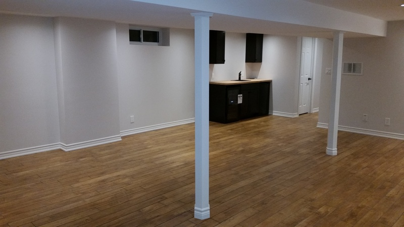 Finished basement Burlington,Ont
